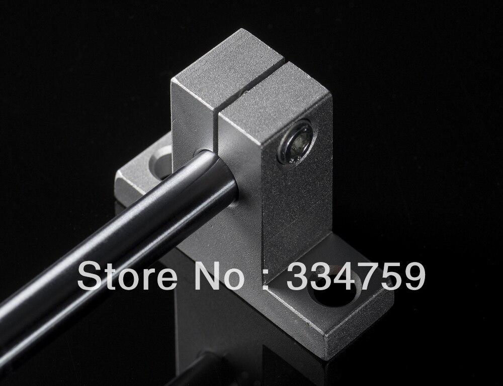 4 pcs SK12 12mm linear trilho de suporte do eixo linear suporte SH12A peças cnc