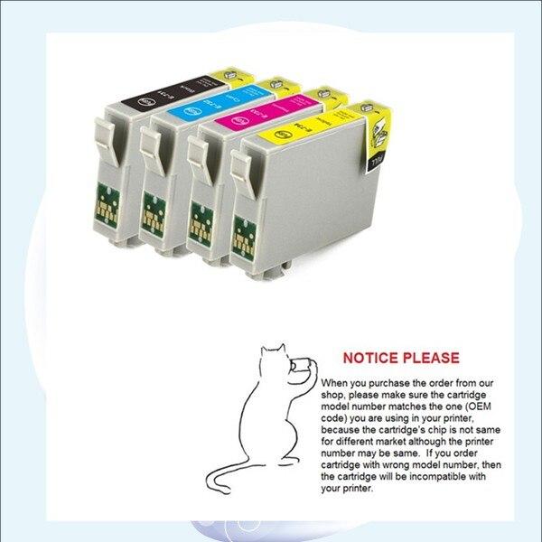 YOTAT 4 шт. T1051-T1054 чернильный картридж для Epson T10/T11/TX200/TX209/TX210/TX213 </div> <div class=