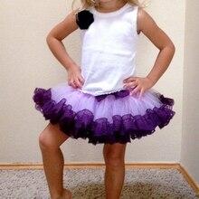 Girls Tulle Skirts Tutu Cute Infant Chiffon Casual Fluffy Ball Gown Pettiskirt Toddler Girls Mini Dance Party Tutu Skirts
