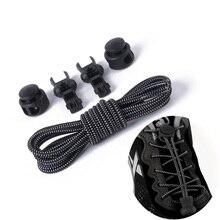 Lacci senza lacci blocco elasticizzato lacci per scarpe con chiusura in pizzo Sneaker elastica lacci per bambini lacci per scarpe corsa/Jogging/Triathlon