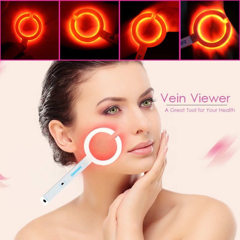 Imagem de imagem de imagem de imagem de imagem infravermelha iv visor vascular veia transilluminator venipuncture veia finder