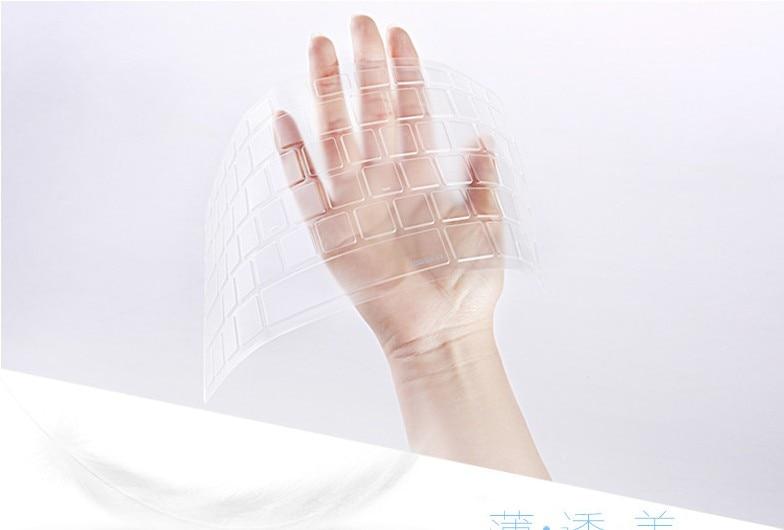 Portátil claro transparente tpu teclado capa protetores para acer E5-573 V3-574G F5-572G V3-574 E5-532G VN7-592G VN7-792G V5-591G