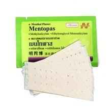 100pcs Thailand Mentopas Inflammatory Pain Relief Plaster For Neck / Muscle Aches Pain Relief Muscular Fatigue Arthritis