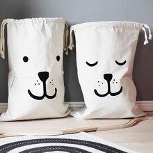 Мультяшные сумки для хранения рюкзак на шнурке детский органайзер для комнаты для игрушек и детской одежды детская сумка для стирки Подвес...