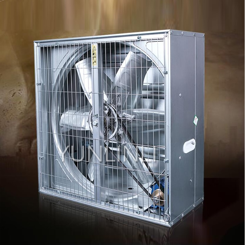 Negative Pressure Fan Industrial Exhaust Fan High Power Powerful Exhaust Fan Factory Greenhouse Breeding Ventilation Exhaust Fan enlarge