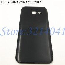 Verre arrière de bonne qualité pour Samsung Galaxy A3/A5/A7 2017 A320 A520 A720 couvercle de vitre arrière boîtier de la porte arrière + Logo