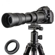 Jintu 420-800mm f/8.3 super telefoto manual lente para sony a6500 NEX-7 NEX-6 NEX-5T NEX-5N NEX-5R 3n e-mount câmera digital