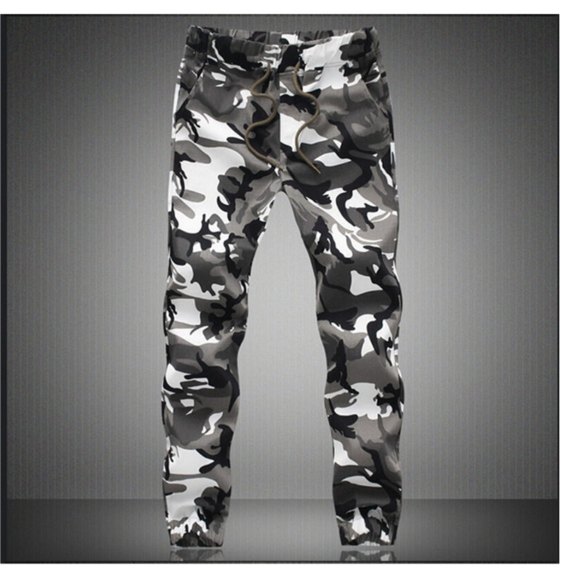 Camouflage Military Jogger Pants Men 2020 Pure Cotton Mens Spring Autumn Pencil Harem Pant Men Comfortable Trousers Camo Joggers
