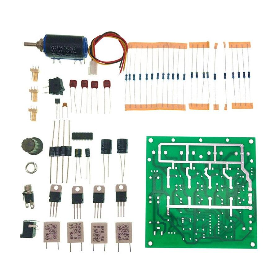 Kit de carga electrónica DIY LM324 150W 72V2A/15V10A