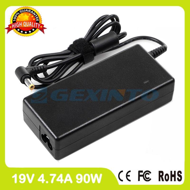 19 V 4.74A adaptador de potencia ac de FMV-AC504 cargador del ordenador portátil para Fujitsu LifeBook TH701 V1010 V1020 V1030 V1040LA V700 T4210 T4215