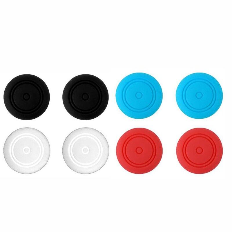 2 silicone polegar vara grip caps joystick analógico caso capa para nintend switch lite ns mini controlador joy-con miniatura