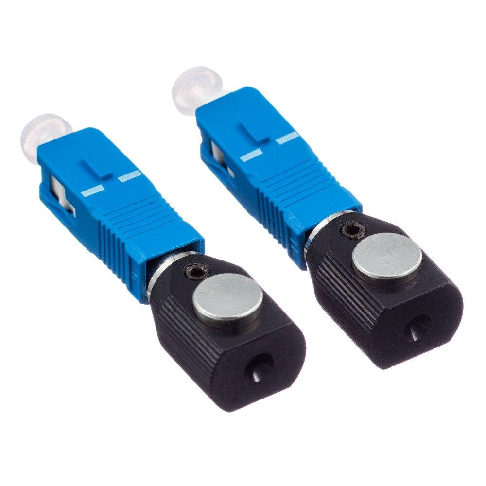 Adaptador desencapado redondo da fibra do sc do adaptador desencapado da fibra do sc do tipo redondo