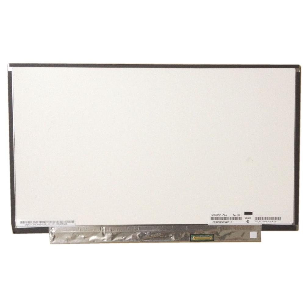 LALAWIN N133BGE-EAA صالح N133BGE-EB1 N133BGE-EA1 LED LCD الشاشة ل تشي مي 13.3 eDP WXGA عرض جديد