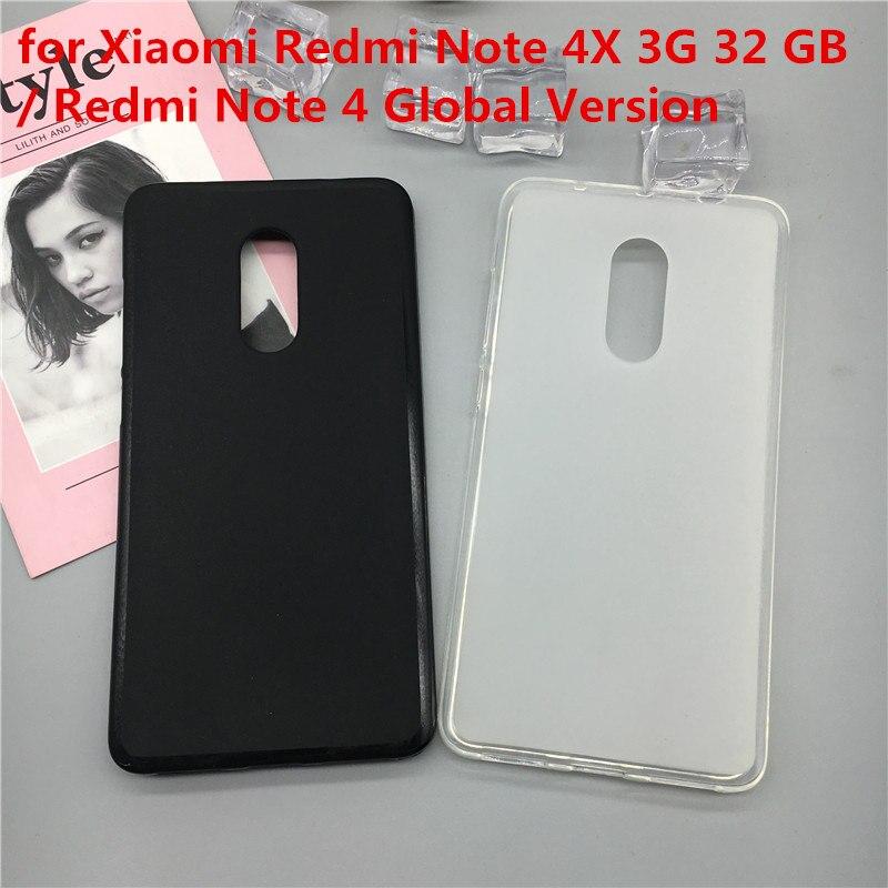 Funda de TPU Original para Xiaomi Redmi Note 4X, 3G, 32 GB...