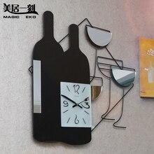 Horloge murale à quartz personnalisée   Horloge murale muette en bois, montres et horloges de décoration
