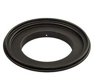 Nuevo anillo adaptador inverso Macro de aluminio negro 58mm para Sony E NEX NEX-3 NEX-5 NEX-7 NEX-5N E mount
