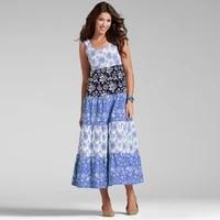 boho dresses women plus size sleeveless summer sundress beachwear free shipping