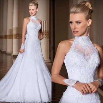 Vestido De Novia hecho a medida, bonito y barato, 2016, línea A,...