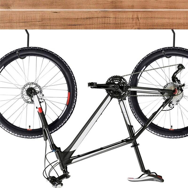 Велосипедный крючок, 10 упаковок, сверхмощная Вешалка для велосипеда, крючки для хранения велосипедов с 10 болтами для гаражной стены и потолка, подходит для всех типов велосипедов