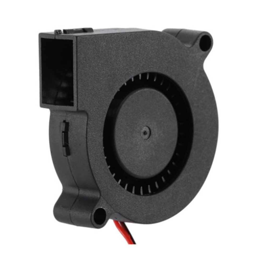 Soplador de CC pequeño, piezas de impresora 3D DC24V, ventilador de refrigeración, turbina Ultra silenciosa, pequeño soplador de CC 5015 para placa de circuito de impresora 3D