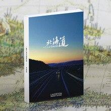 하나의 엽서, 매력 관광 도시, hokkaido 일본, 크리스마스 엽서 인사말 생일 메시지 카드 30pcs에 30 pcs 10.2x14.2 cm