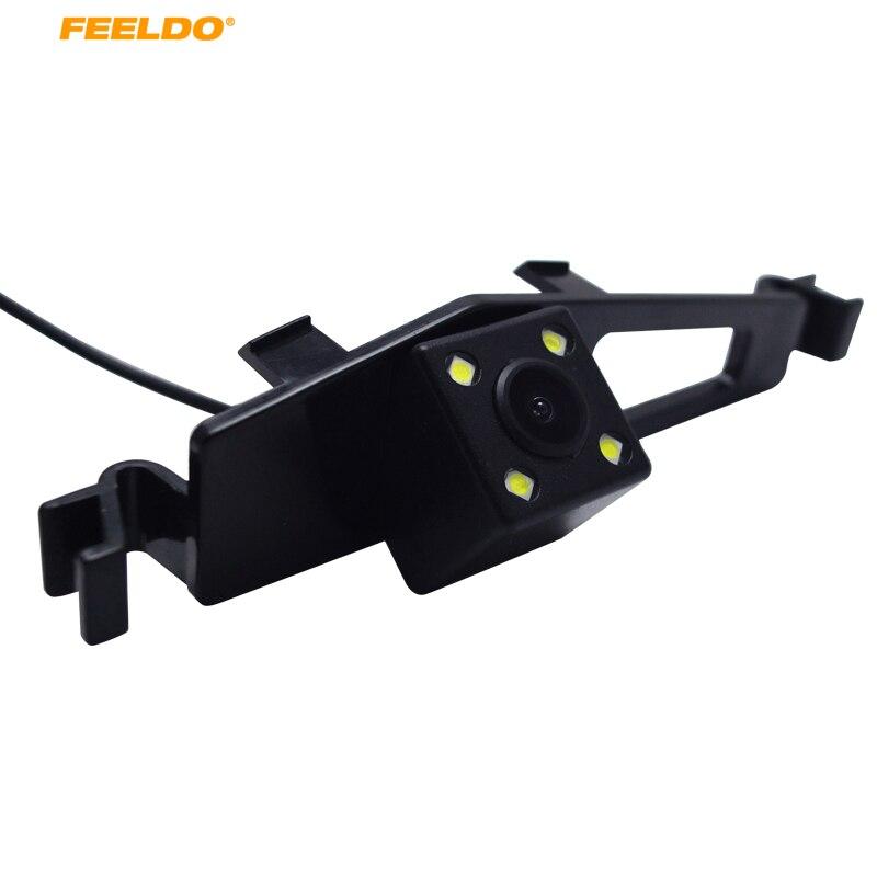 FEELDO 1Set CCD para coche cámara de marcha atrás de respaldo con LED para cámara retrovisora BYD F6 # AM5447
