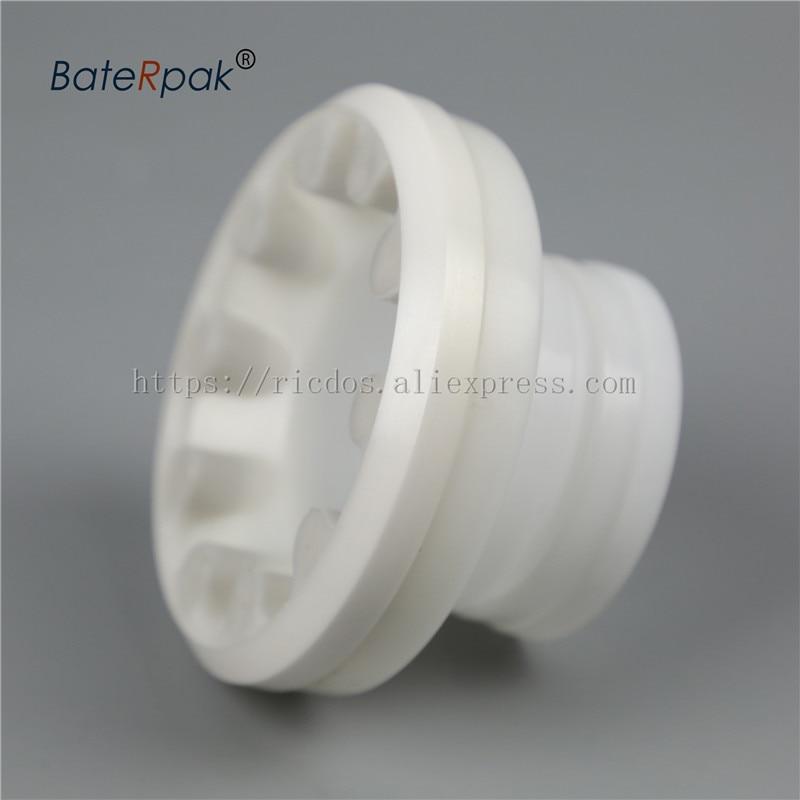BateRpak Plastic holder type Pad printing machine 90mm ink cup with Zirconium porcelain/ceramic ring enlarge