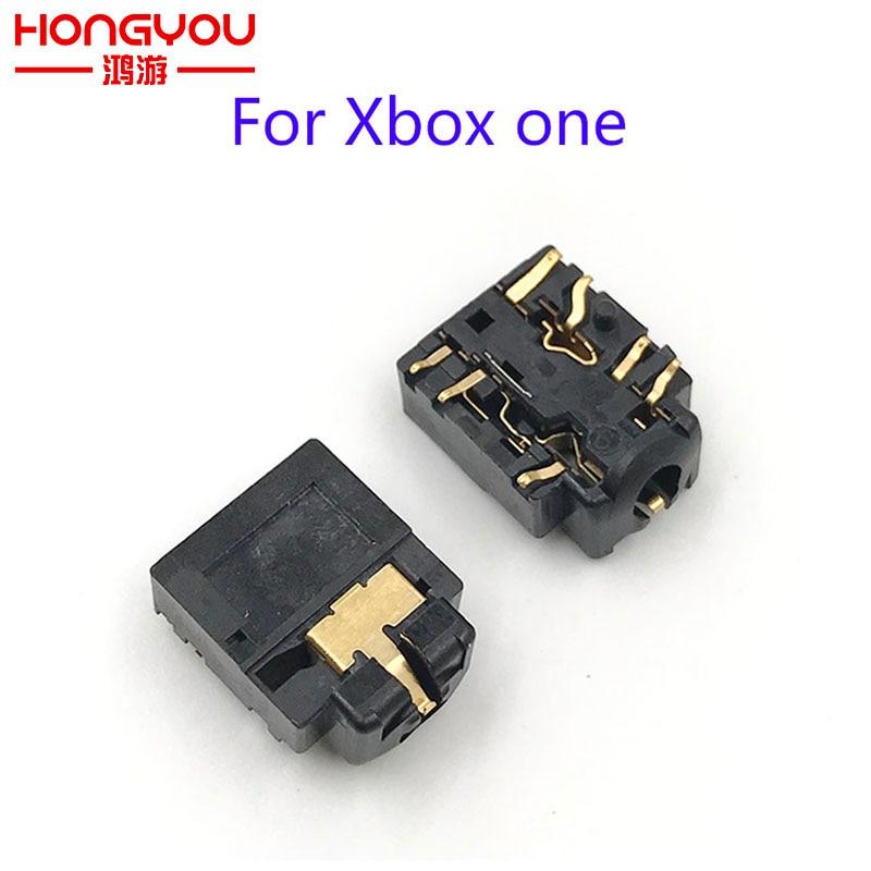 Разъем для наушников 3,5 мм, разъем для наушников, запасная часть для беспроводного контроллера Xbox one
