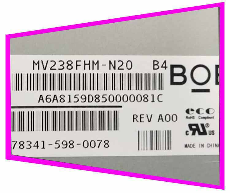 TPV original novo BOE original novo 23.8 polegada mv238fhm-n20/n10/n30 HD tela LCD ângulo de visão completo