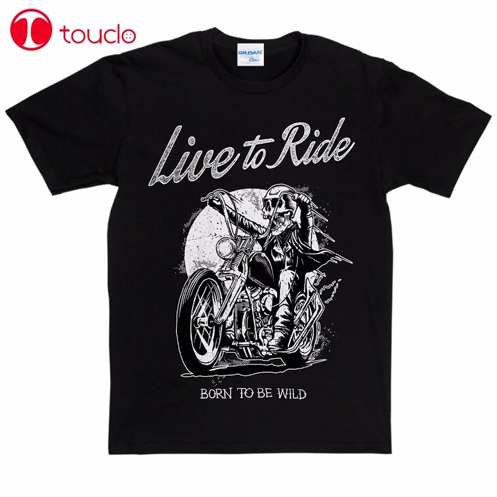 2019 camiseta para hombre, camiseta para motociclista salvaje, camiseta, camiseta, suéter