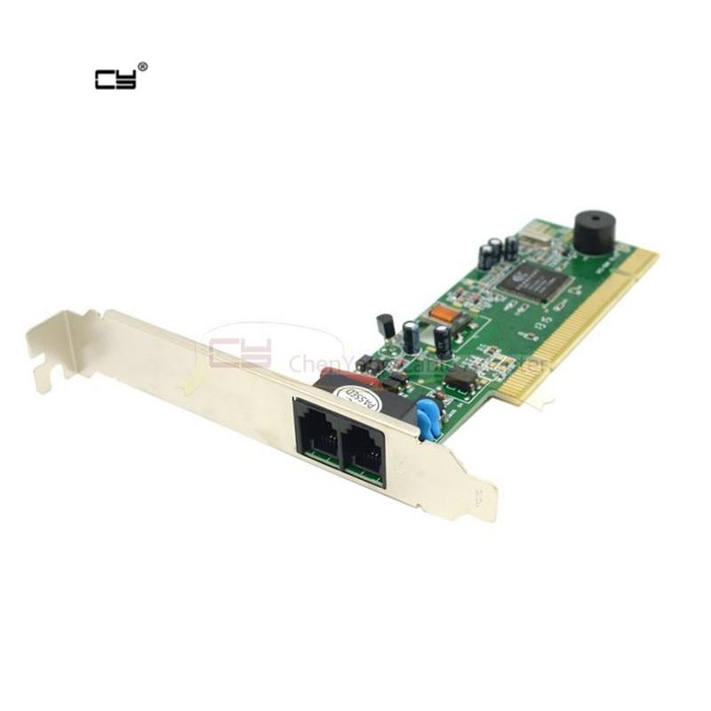 V90 V92 56K Internal card PCI Data Fax Voice Dial Up Internet Modem for Windows card adapter