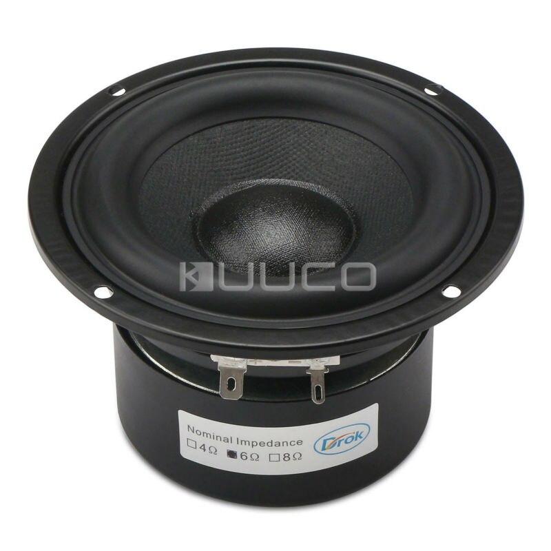 40 w alto falante 4 inch 6 ohms alto falante de audio hi fi subwoofer alto falante