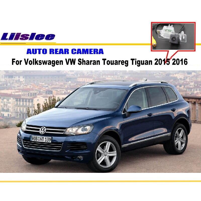 Автомобильная камера заднего вида для Volkswagen VW Sharan, Touareg Tiguan 2015 2016 Автомобильная камера заднего вида Автомобильные аксессуары