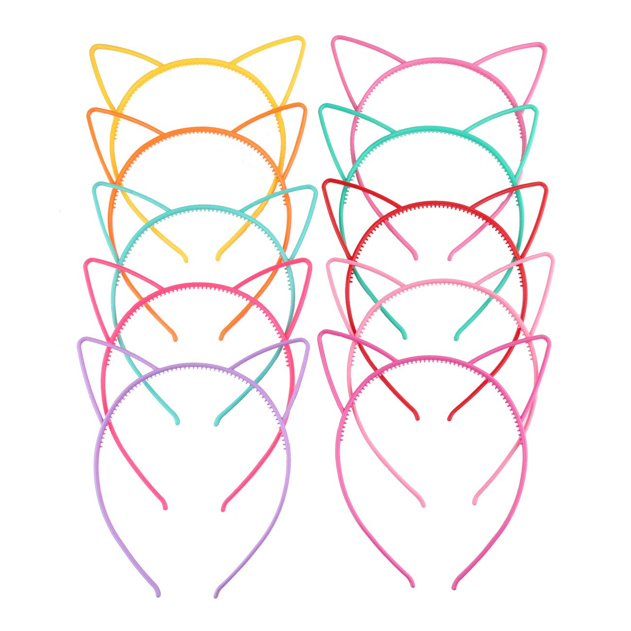 Stylish Lady Headband Baby Party Props Sexy Black Cat Ears Girl Headwear Hair Hoop Accessories For Women Hairband Kids Head Band