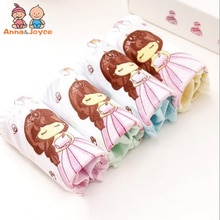 3pcs/lot fashion kids panties girls' briefs female child underwear lovely cartoon panties children clothing