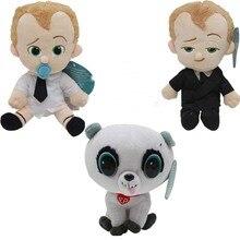 3pcs Animation The Boss Baby Beanie Suit Stuffed Animals Plush Doll Kids Christmas Gifts