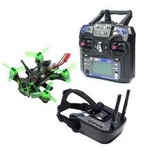 Mantis85 85mm 6CH 2,4G RC Micro FPV carreras de Drone Quadcopter 600TVL Cámara VTX antena Dual 5,8G 40ch Mini gafas de vídeo RTF