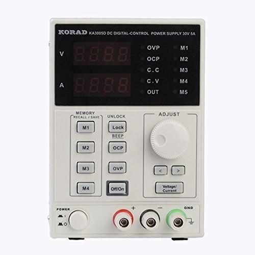 Высокоточный Регулируемый источник питания KORAD KA3005D 0 ~ 30 в 0 ~ 5A, цифровой Регулируемый источник питания постоянного тока, лабораторный класс для ремонта телефонов