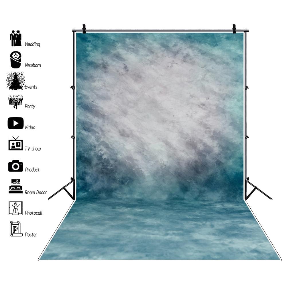 Laeacco Vinyl Backgrounds For Photography Gradient Solid Color Surface Texture Party Portrait Photo Backdrops Studio