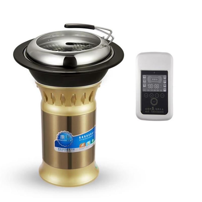 جهاز بخار الطعام التجاري متعدد الوظائف وعاء ساخن معدات المأكولات البحرية المعكرونة باخرة جهاز الطبخ المنزلي YRP-2150
