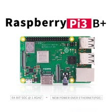 Raspberry Pi 3 modèle B + (plus) intégré Broadcom 1.4GHz processeur quad-core 64 bits Wifi Bluetooth et Port USB