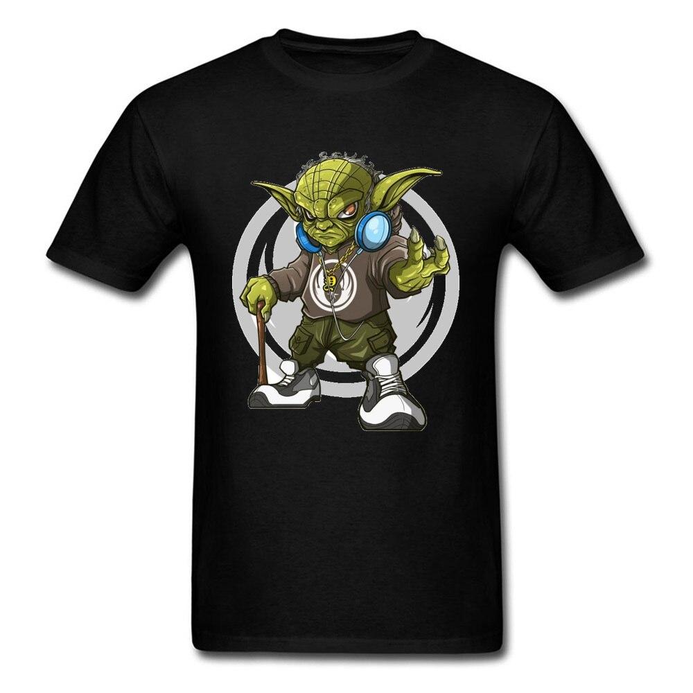 Newest Star Wars Yoda T-Shirts 100% Cotton Marvel Avengers Anime Tee Shirt World Civil War T Shirt Men DJ Rock Band Tshirt