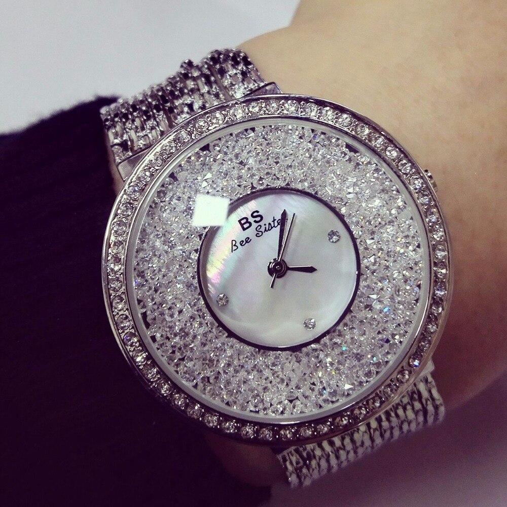 Relojes de lujo para mujer, marca famosa de diamantes, elegantes relojes de cuarzo, relojes de pulsera con diamantes de imitación para mujer, relojes femeninos ZEK070
