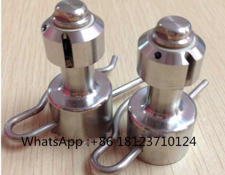 Boquilla de lavado rotativa, cabezal rotativo CIP, máx. boquilla de limpieza del tanque de diameter1.3m, 360 de acero inoxidable sanitario