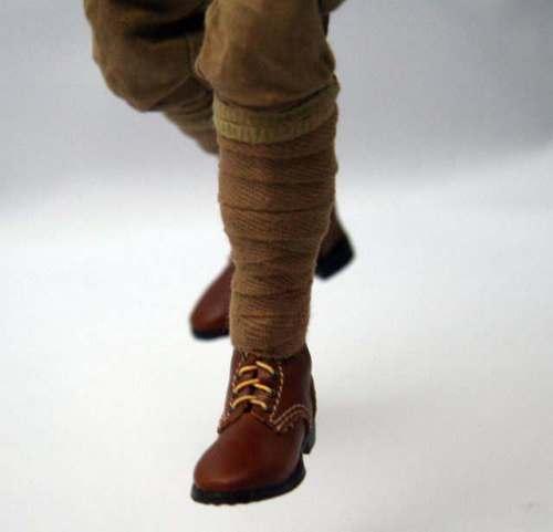 Par WW2, Ejército Japonés, soldado militar, campo de lana, PROTECTOR de piernas, mallas, masilla