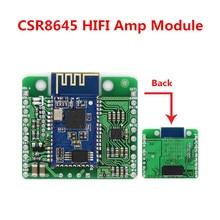 DC 12 V/5 V CSR8645 APT-X Sans Perte Musique Hifi Bluetooth 4.0 Récepteur Conseil Module Amplificateur pour Audio De Voiture amplificateur Haut-Parleur