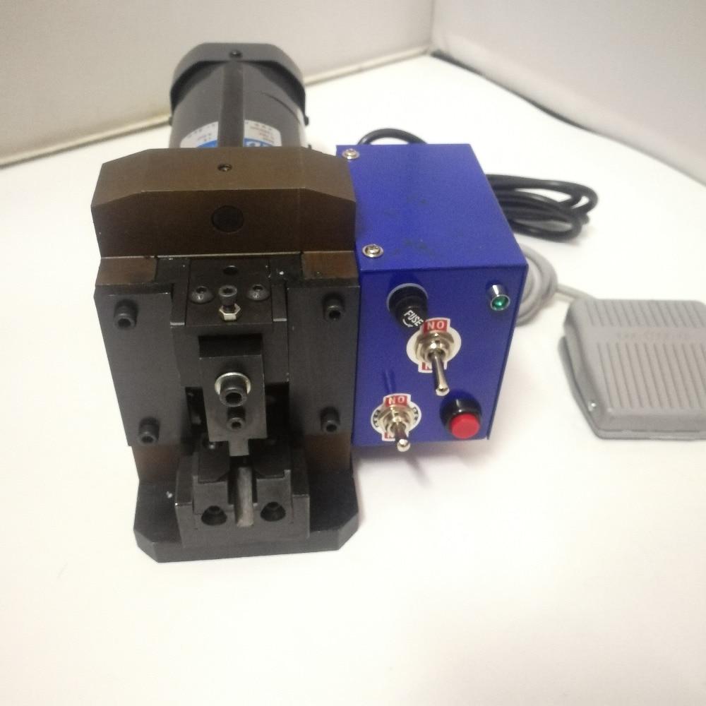 مكبس أسلاك RJ45 ، 90 واط ، 2P-8P ، 110 فولت/220 فولت ، شبه أوتوماتيكي