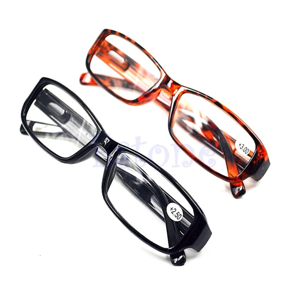 Comfy Reading Glasses Presbyopia Black Brown New 1.0 1.5 2.0 2.5 3.0 Diopter
