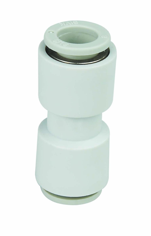 Envío Gratis Accesorios Neumáticos de marca parte de manguera de aire componentes conector acoplador recto para OD tamaño 3mm PU manguera/nailon manguera