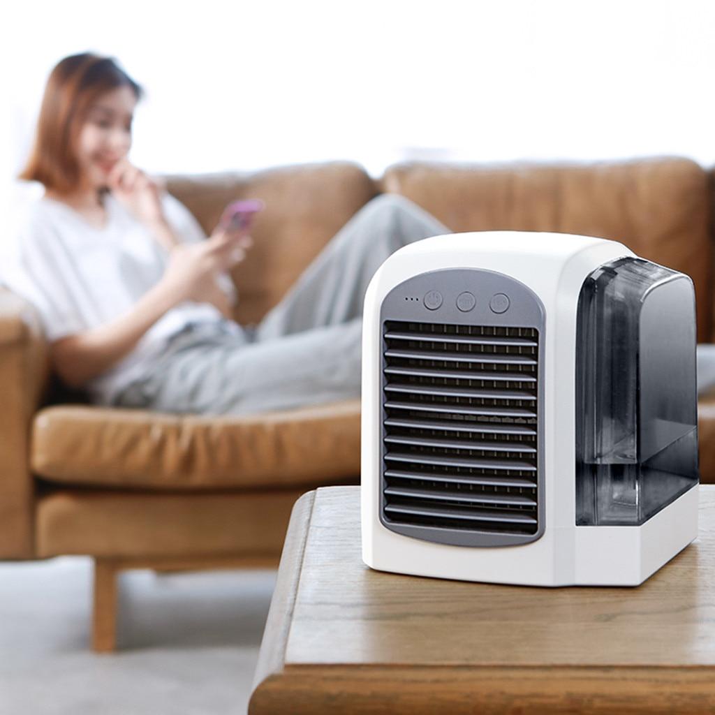 Mini acondicionador de aire ártico, aire acondicionado, enfriador frío para dormitorio, colgante de abanico, envío